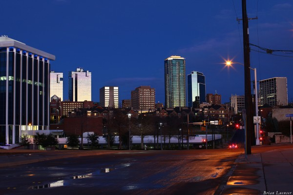 Fort Worth at Night 1200×800